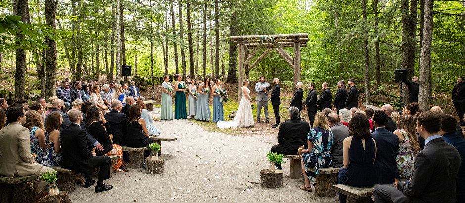 Woodsy Maine Wedding with the Kaedings, August 2021