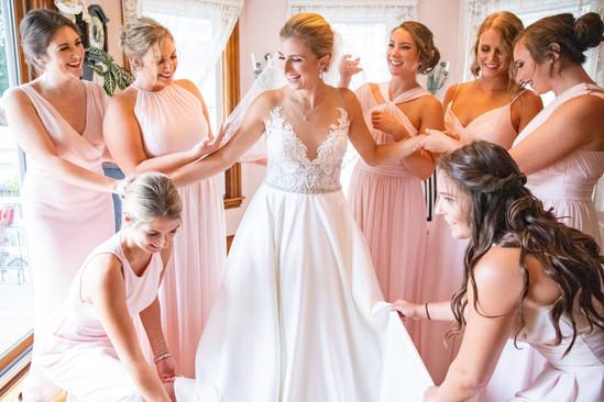 Minter Wedding Bridesmaids