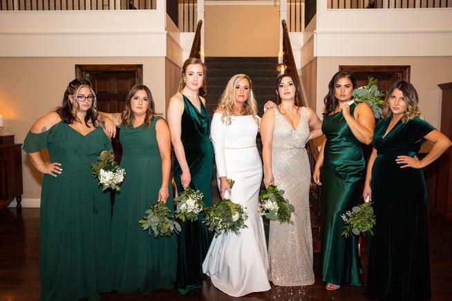 Scenna Wedding Bridesmaids