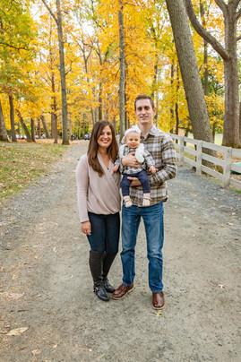 Fitzgerald Fall Family Portraits at Endicott Park