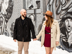 Valentine's Day Couple's Session with Kim and Ian, February 2021