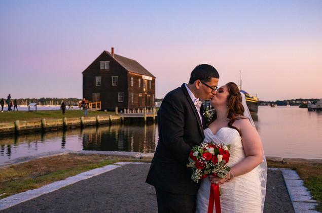 Gates Wedding Bride and Groom