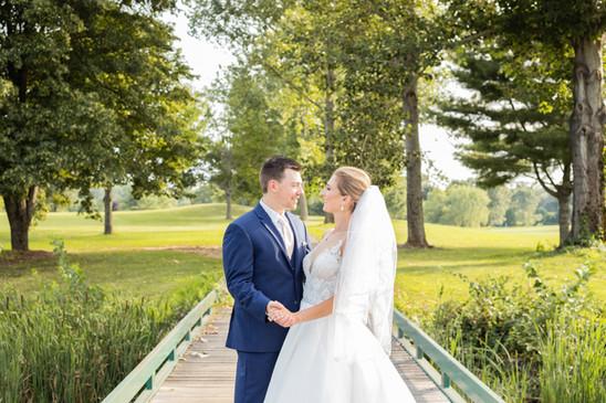 Minter Wedding Bride and Groom