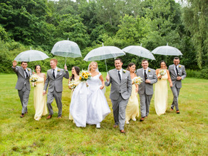 Rainy but Bright Western MA Wedding with Ana and Ben, July 2021