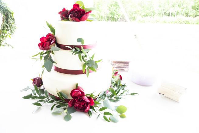 Beaven Wedding Cake