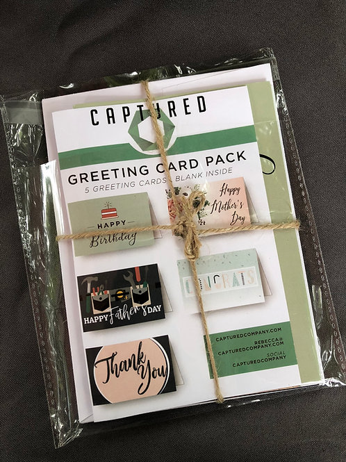 Greeting Card Pack