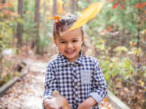 Third Birthday Portraits with sweet Savannah - October 2020