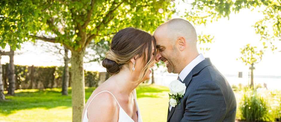 Waterfront Vows and Wedding with the Shannen and Pete in Newport, Rhode Island, July 2021