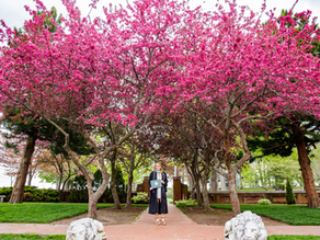 Springtime Grad Session at Lynch Park in Beverly with Dakota, May 2021