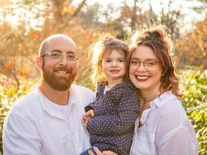 Fall Family Portraits with the Lamkin Family, November 2020