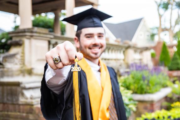 Ray Graduation Portrait at Lynch Park