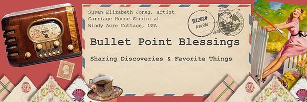 Bulletpoint Blessings Header - susan eli
