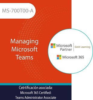 MS-700T00-A | Managing Microsoft Teams