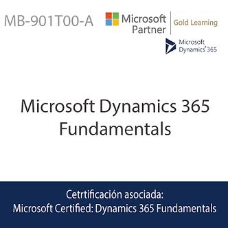 MB-901T00-A | Microsoft Dynamics 365 Fundamentals