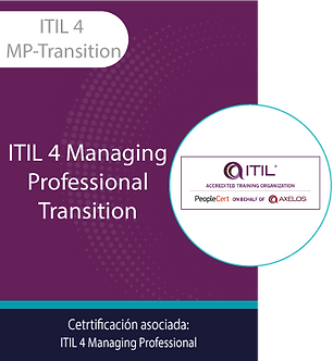 ITIL 4 MP-Transition | ITIL 4 Managing Professional Transition