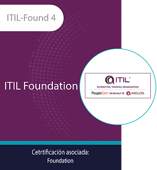 ITIL-Found 4   ITIL Foundation