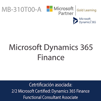 MB-310T00-A | Microsoft Dynamics 365 Finance