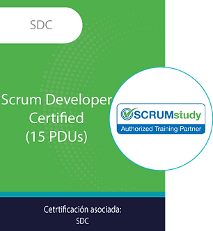 SDC | Scrum Developer Certified (14 PDUs)