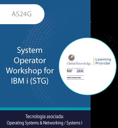AS24G | System Operator Workshop for IBM i