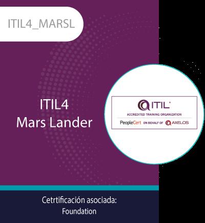 ITIL4_MARSL | ITIL4 Mars Lander
