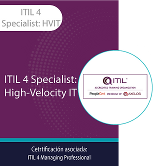 ITIL 4 Specialist: HVIT | ITIL4 Specialist: High-Velocity IT