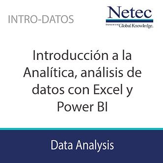 INTRO-DATOS | Introducción a Analítica, análisis de datos con Excel y Power BI