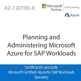 AZ-120T00-A   Planning and Administering Microsoft Azure for SAP Workloads