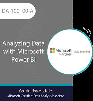 DA-100T00-A | Analyzing Data with Microsoft Power BI
