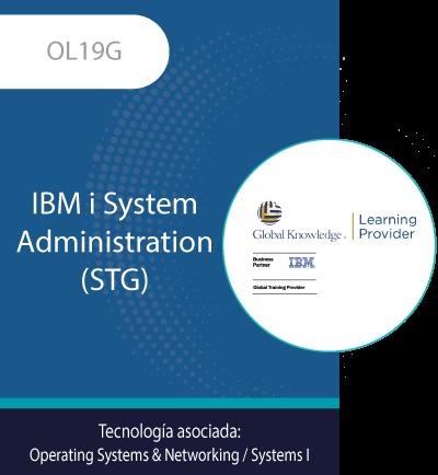 OL19G | IBM i System Administration