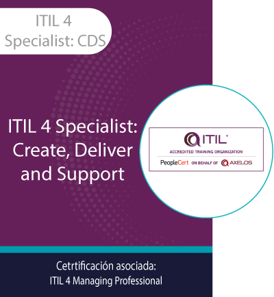 ITIL 4 Specialist: CDS | ITIL Specialist: Create, Deliver and Support