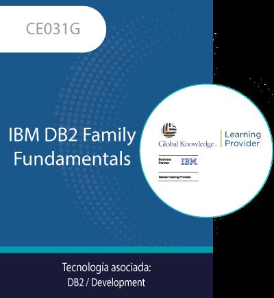 CE031G   IBM DB2 Family Fundamentals