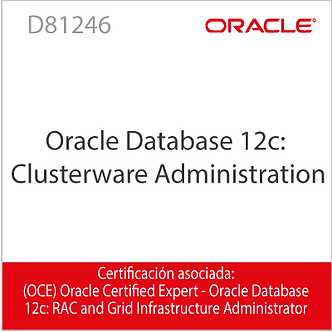 D81246 | Oracle Database 12c: Clusterware Administration