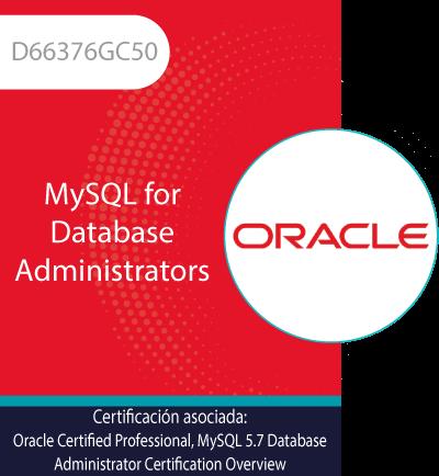 D66376GC50   MySQL for Database Administrators