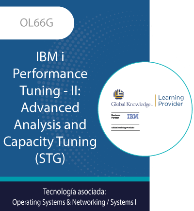 OL66G | IBM i Performance Tuning - II: Advanced Analysis and Capacity Tuning