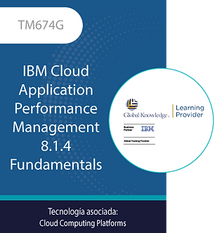 TM674G | IBM Cloud Application Performance Management 8.1.4 Fundamentals