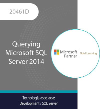 20461D   Querying Microsoft SQL Server 2014