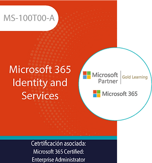 MS-100T00-A | Microsoft 365 Identity and Services