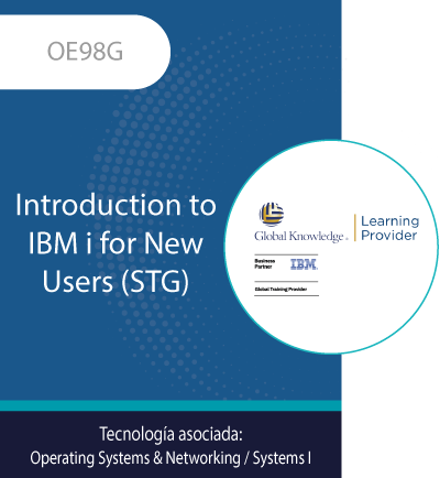 OE98G | Introduction to IBM i for New Users
