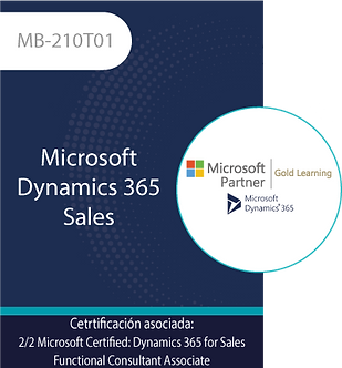 MB-210T01 | Microsoft Dynamics 365 Sales