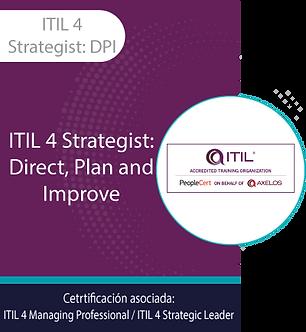 ITIL 4 Strategist: DPI | ITIL Strategist: Direct Plan and Improve