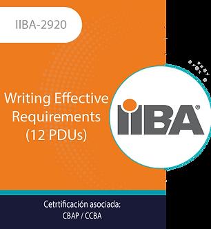 IIBA-2920   Writing Effective Requirements