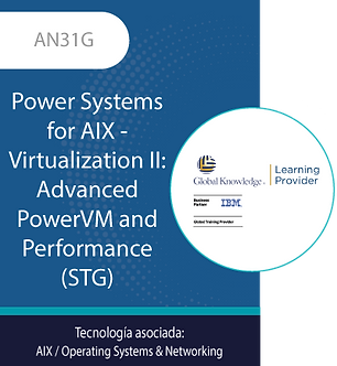 AN31G | Power Systems for AIX - Virtualization II: Advanced PowerVM and...