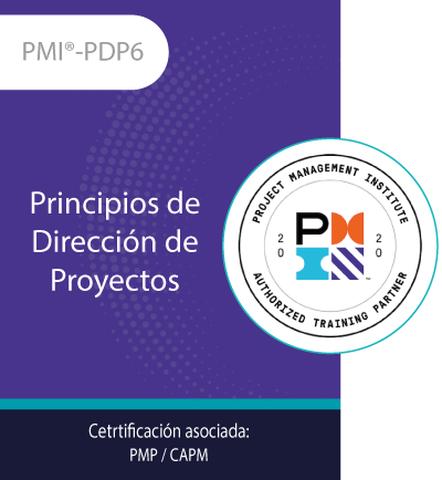 PMI®-PDP6 | Principios de Dirección de Proyectos (21PDUs)