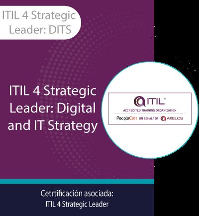 ITIL 4 Strategic Leader: DITS | ITIL Strategic Leader: Digital and IT Strategy