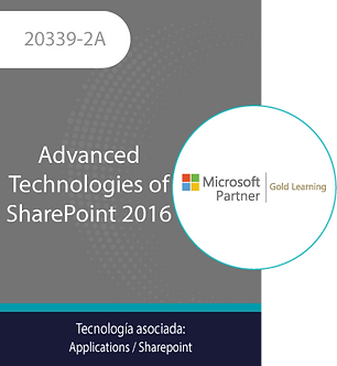 20339-2A | Advanced Technologies of SharePoint 2016