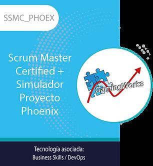 SSMC_PHOEX | Scrum Master Certified + Simulador Proyecto Phoenix