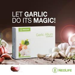 Neolife Garlic Allium www.onlinehealthstore.co.za