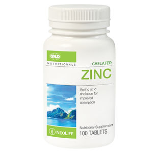 Neolife Chelated Zinc www.onlinehealthst