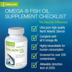 Neolife Salmon Oil Plus