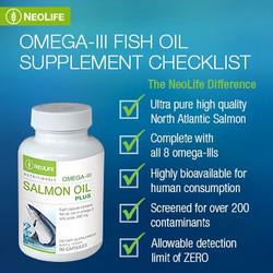 Neolife Salmon Oil Plus